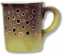 1814/Abstract-Stoneware-Mugs-Brown-Trout
