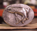 2559/Hand-Forged-Belt-Buckle-Sterling-Silver-Trout