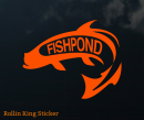 4033/Fishpond-Rolling-King-Sticker