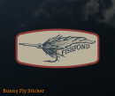 4035/Fishpond-Bunny-Fly-Sticker