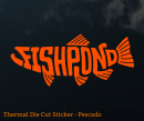 5098/Fishpond-Thermal-Die-Cut-Sticker-Pescado