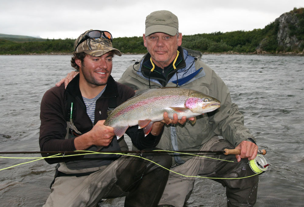 Rapids camp lodge alaska travel lodges chicago fly for Chicago fly fishing outfitters