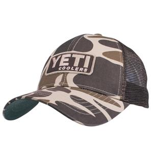 Yeti Custom Camo Cap With Patch