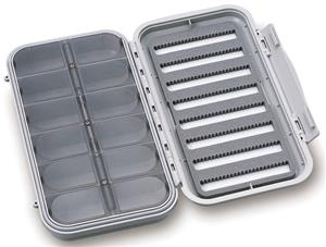 C&F Large Compartment & 8 Row Waterproof Fly Box