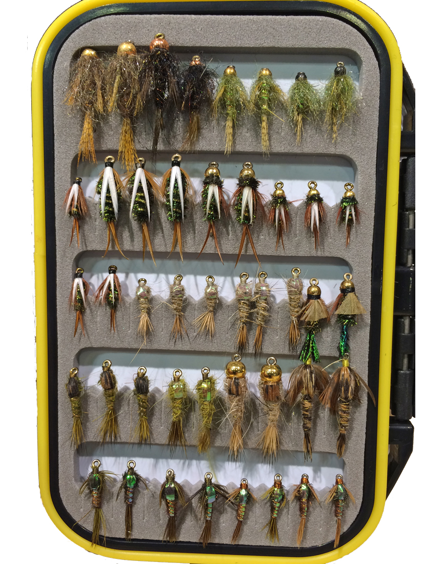 Chifly premo trout nymph selection flies chicago fly for Chicago fly fishing outfitters