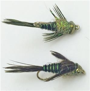 Evolution Tung Head Mayfly P-Tail - Multiple Colors