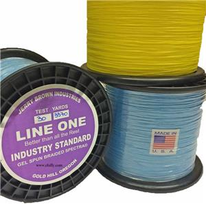 Jerry Brown Industries Line One Braided Spectra
