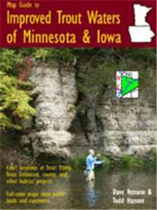 Map Guide To Improved Trout Waters of Minnesota and Iowa