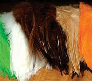 Hareline Strung Chinese Saddle Hackle