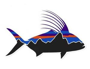 Patagonia Fitz Roy Roosterfish Sticker