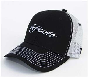 Scott Black/Grey Trucker