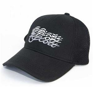 Scott Fitted Black Performance Trucker