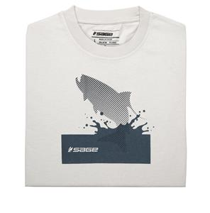 Sage Splashing Tarpon Short Sleeve Tee