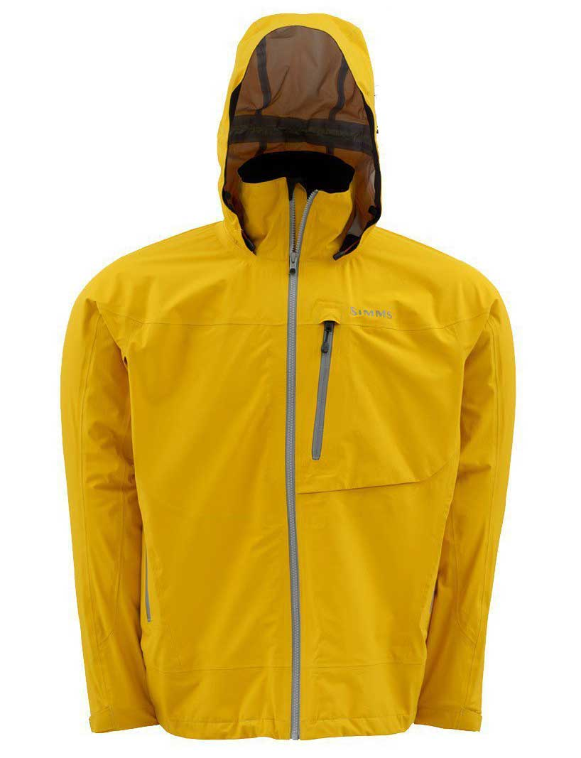Simms acklins jacket apparel chicago fly fishing for Rain gear for fishing