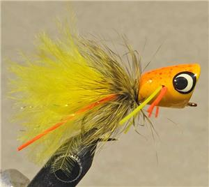 Umpqua Bass Popper Colonel Mustard