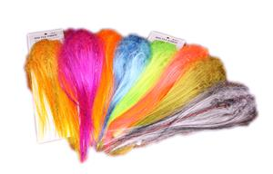 Big Fly Fiber With Curl, Colors and Flash