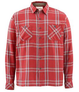 Simms Black's Ford LS Flannel Shirt SALE