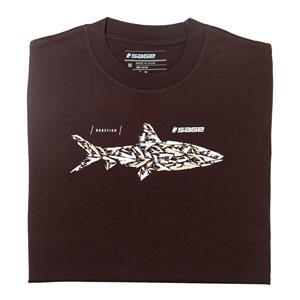 Sage Bonefish Flies Tee - Short Sleeve
