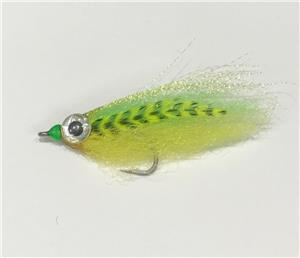 Brents Chartreuse Baitfish