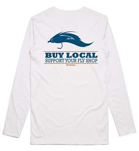 Simms Buy Local Salt LS T-Shirt