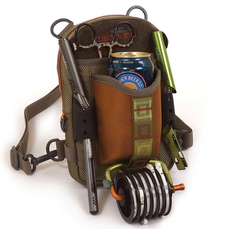 Fishpond cerveza sidekick luggage packs vests for Fly fishing luggage