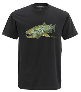 Simms DeYoung Brown Trout SS T