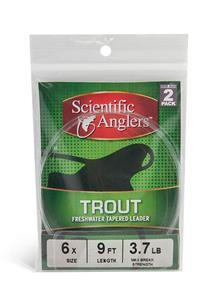 Scientific Anglers Trout Leader 2-Pack