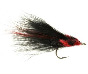 Marabou Tarpon Toad Red and Black