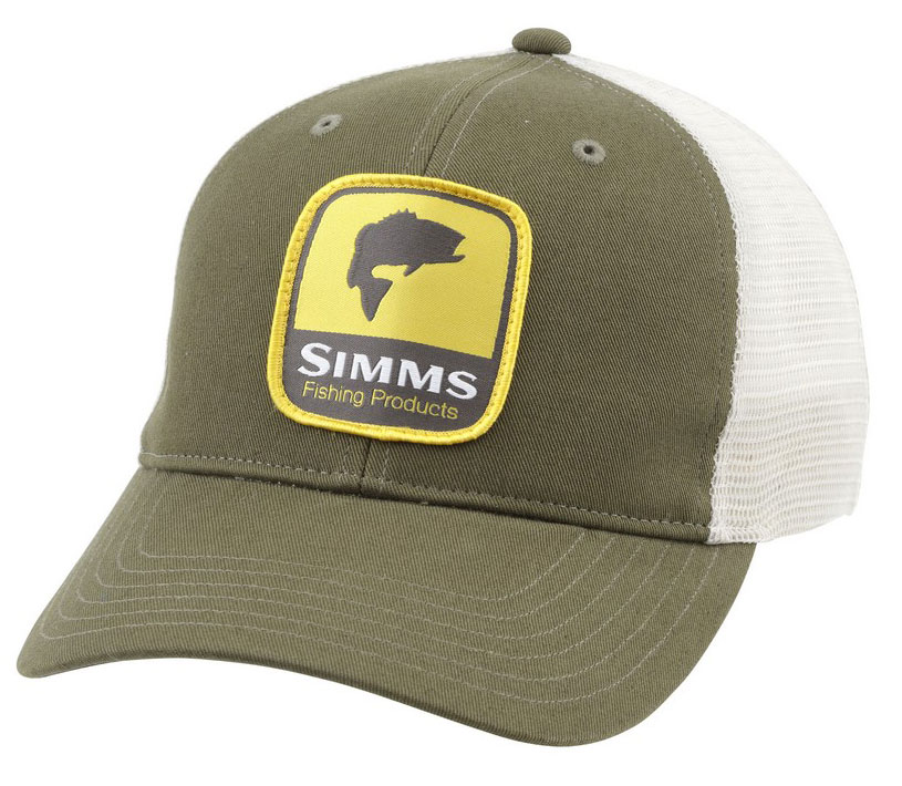 Simms patch trucker cap apparel chicago fly fishing for Chicago fly fishing outfitters