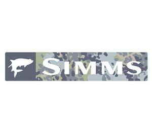 Simms Wordmark Decal - Mult Versions