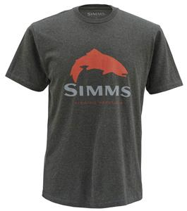Simms Trout Logo SS Tee
